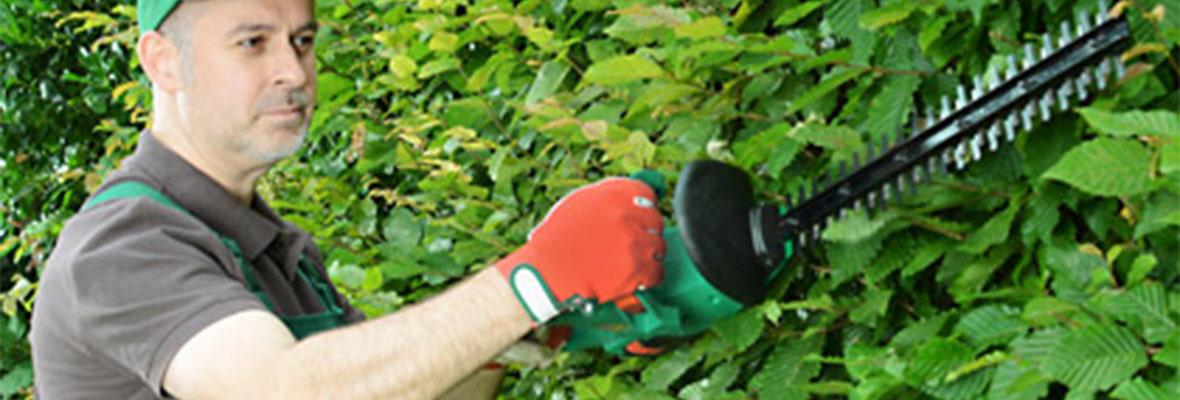 Grünanlagenpflege von HMK Kufstein, Tiefgarage
